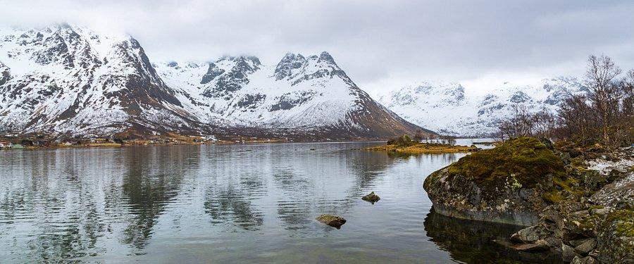 Februar - An der Kaiserroute, Lofoten, Norwegen