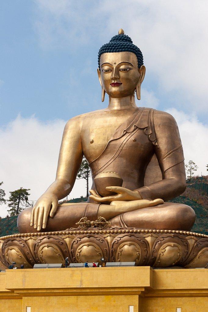 Sitzender Buddha ∙ Seated Buddha, Thimpu, Bhutan